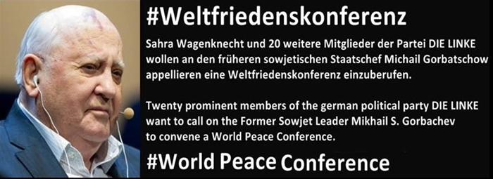 Wir unterstützen www.weltfriedenskonferenz.org